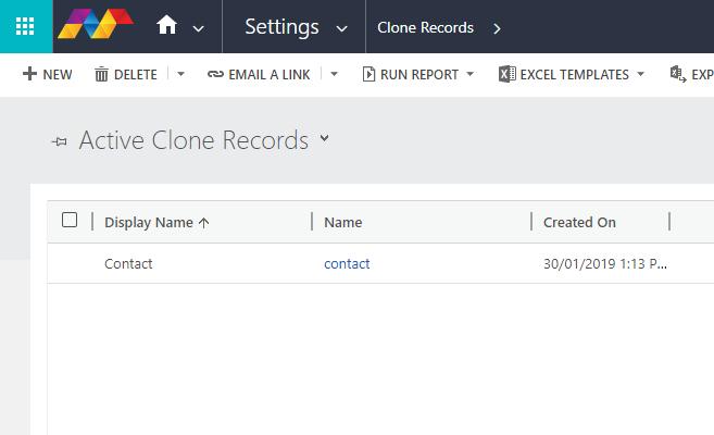 Clone Records in Dynamics 365 CE – Microsoft