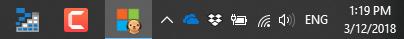 Windows Taskbar Chrome Profile